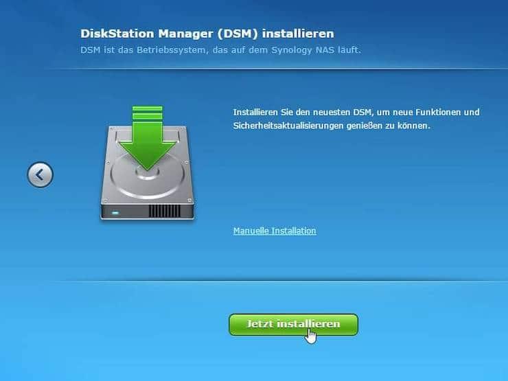 Synology DSM installieren