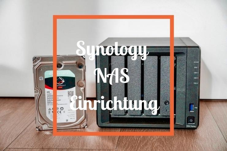 Synology NAS Einrichtung