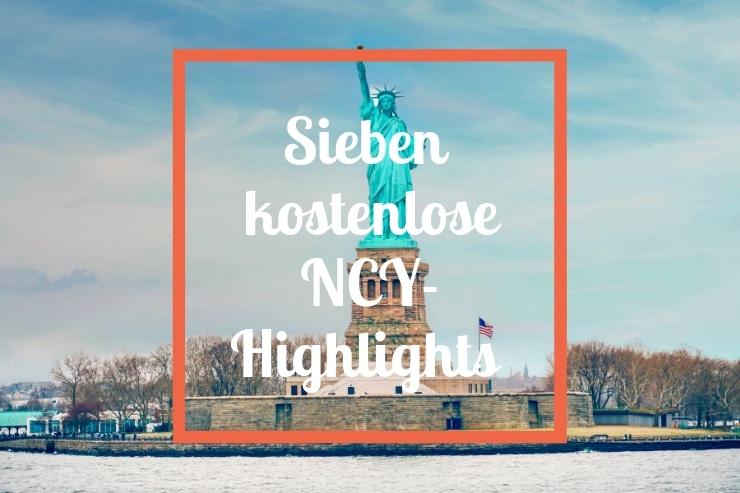 New York kostenlose Sehenswürdigkeiten