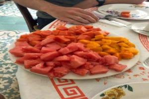 Frühstück Kuba Früchte