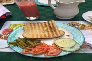 Frühstück Kuba Sandwich