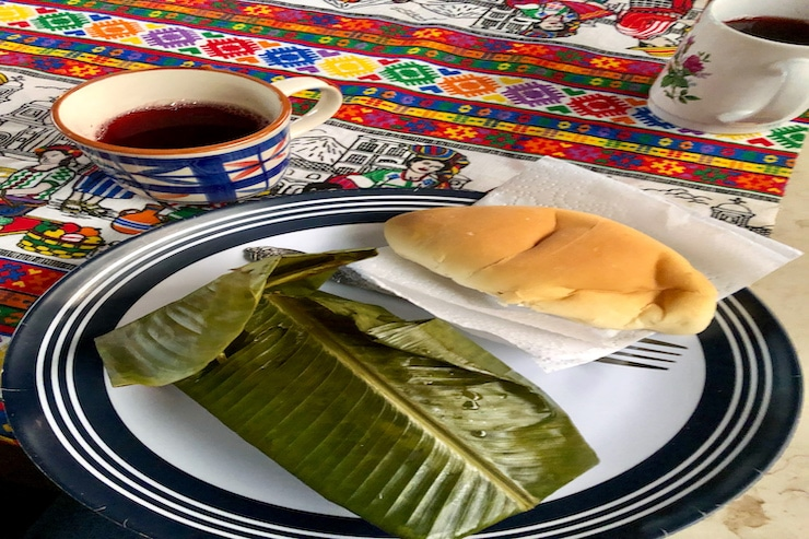 Tamales geschlossen
