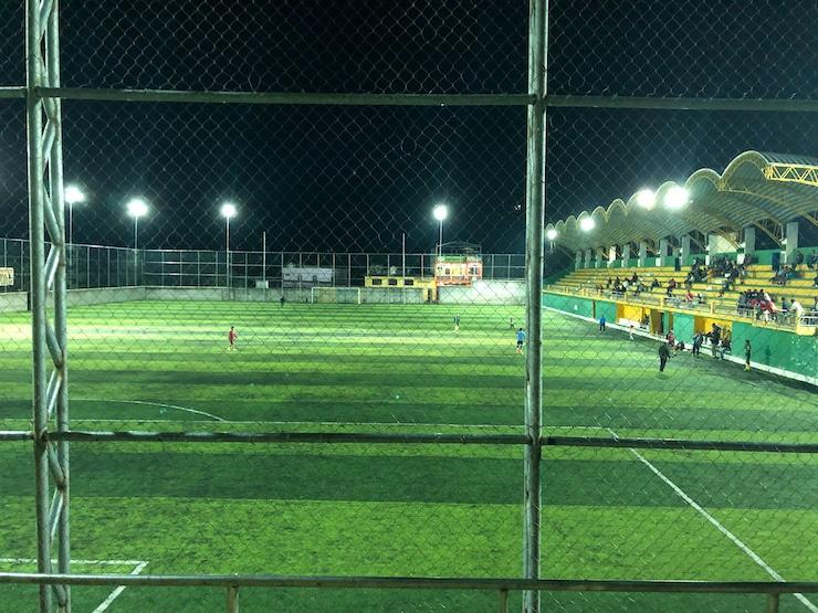 Fußballspiel San Pedro