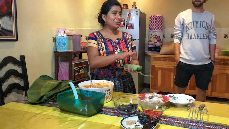 Guatemaltekischer Kochkurs
