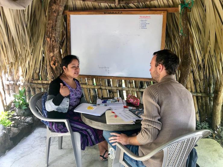 Spanisch lernen in guatemaltekischen Sprachschule