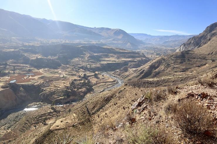 Aussicht Colca Canyon
