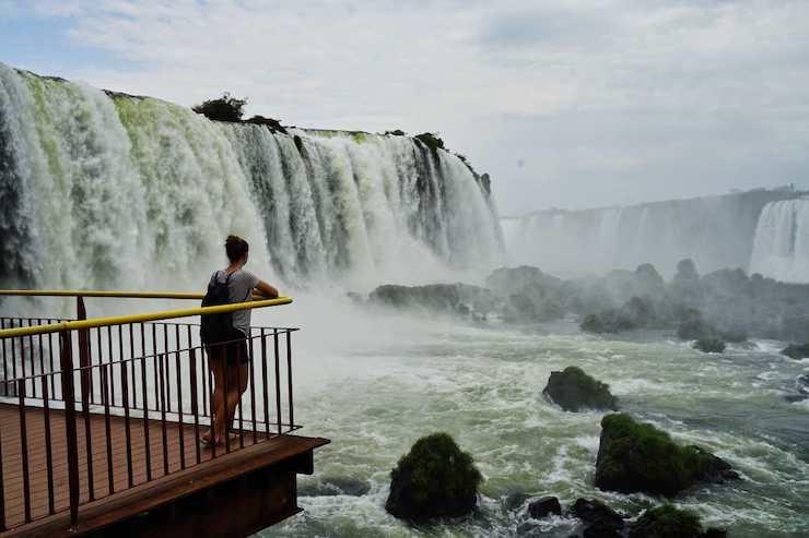 Iguazu Wasserfälle Fotospot
