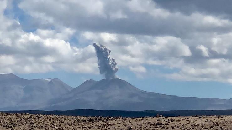 Vulkan Sabancaya Eruption