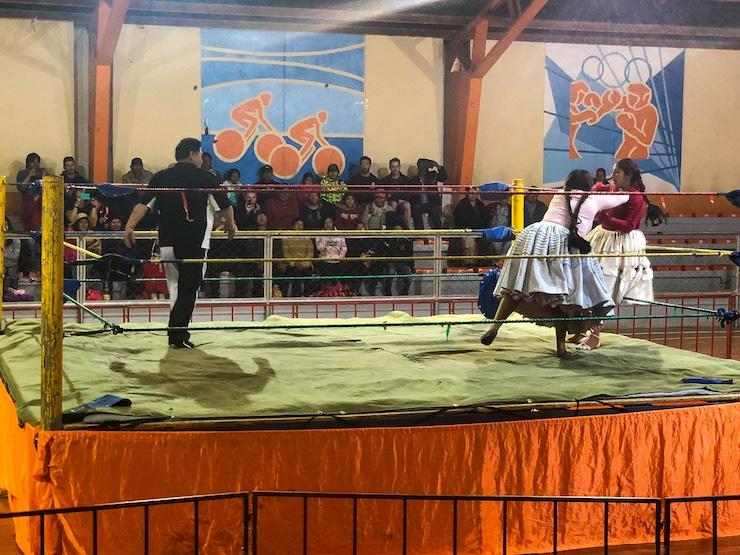 Cholitas Wrestling Bild 1