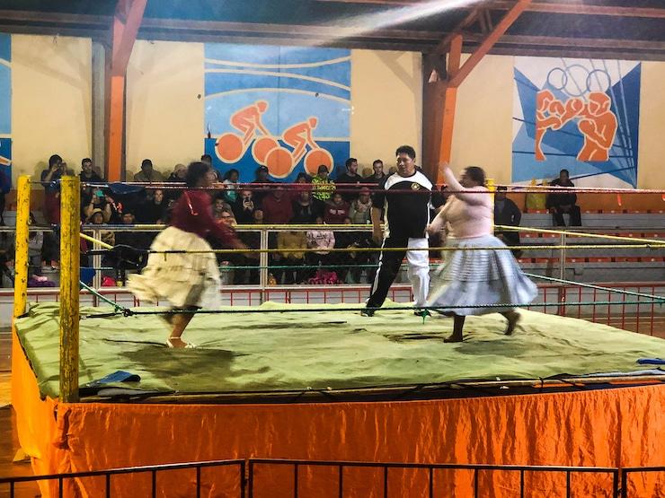 Cholitas Wrestling Bild 2