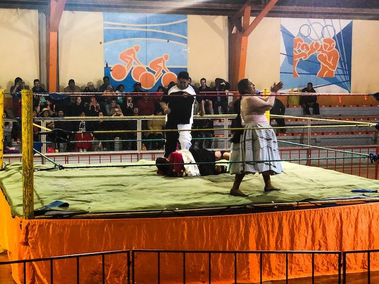 Cholitas Wrestling Bild 3