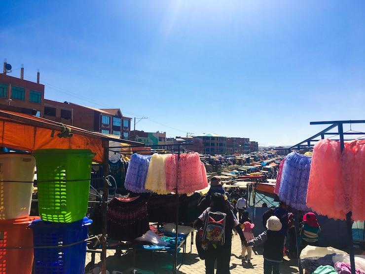 Freiluftmarkt La Paz Überblick