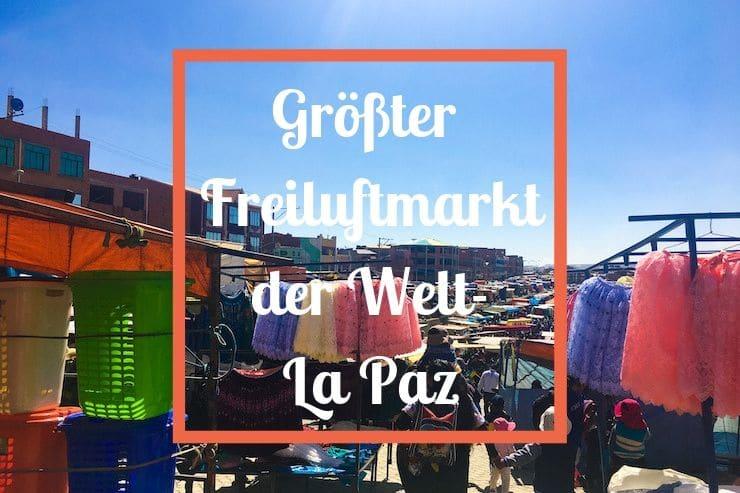 Freiluftmarkt La Paz