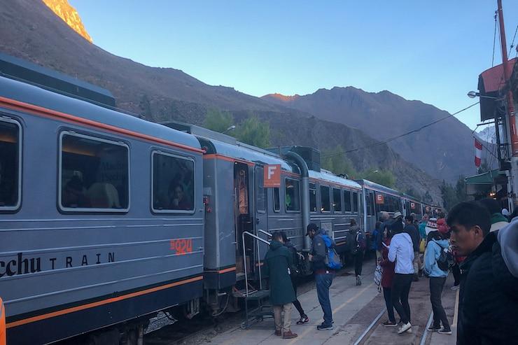 IncaRail Zug zum Machu Picchu