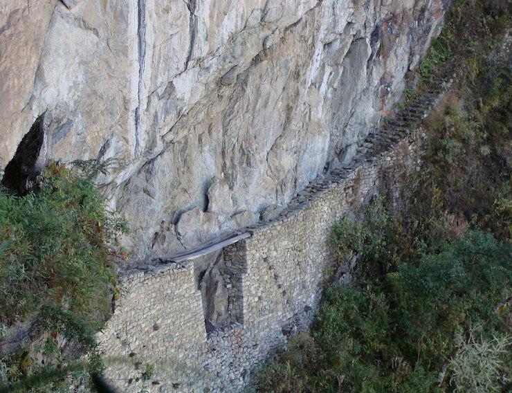 Inkabrücke Machu Picchu