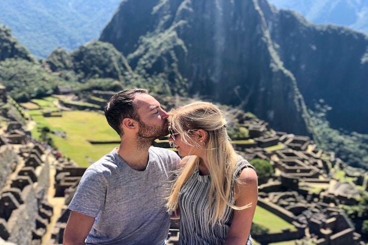 Machu Picchu klassisches Motiv