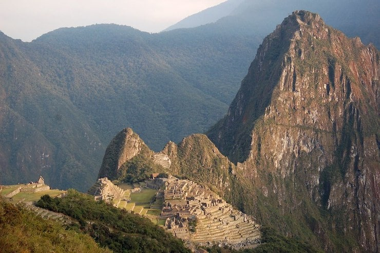 Machu Picchu Mountain Ausblick