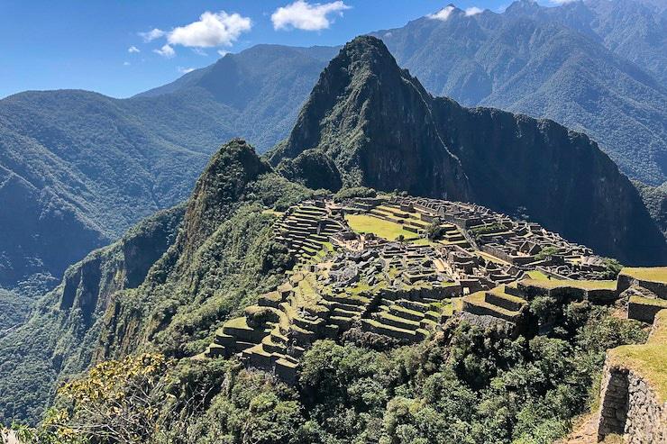 Machu Picchu Foto vom Sonnentor Weg