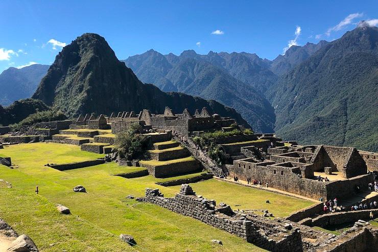 Machu Picchu Stadtkern