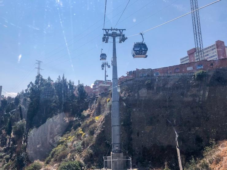 Seilbahnen La Paz Bild 2