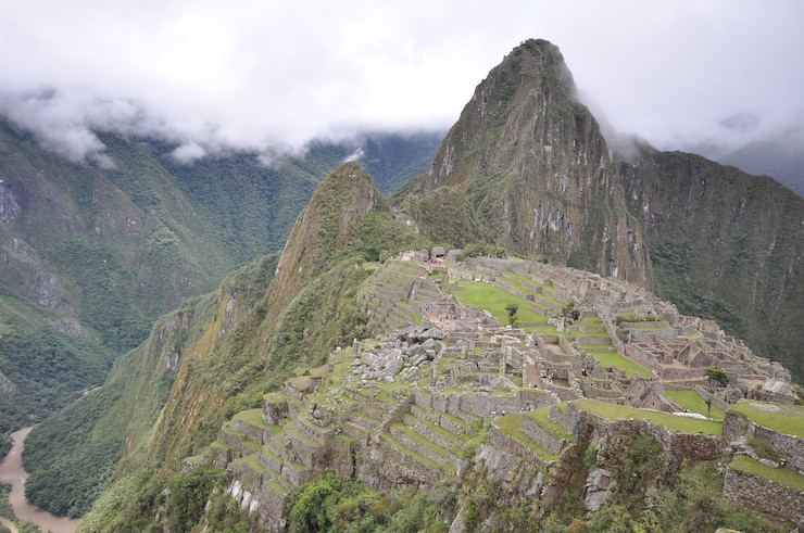 Wayna Picchu Ausblick