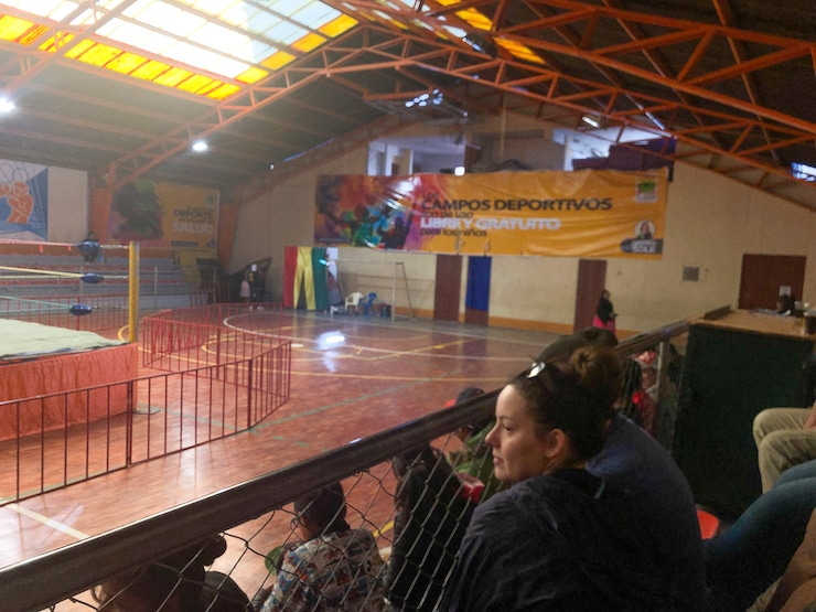 Wrestling Location La Paz