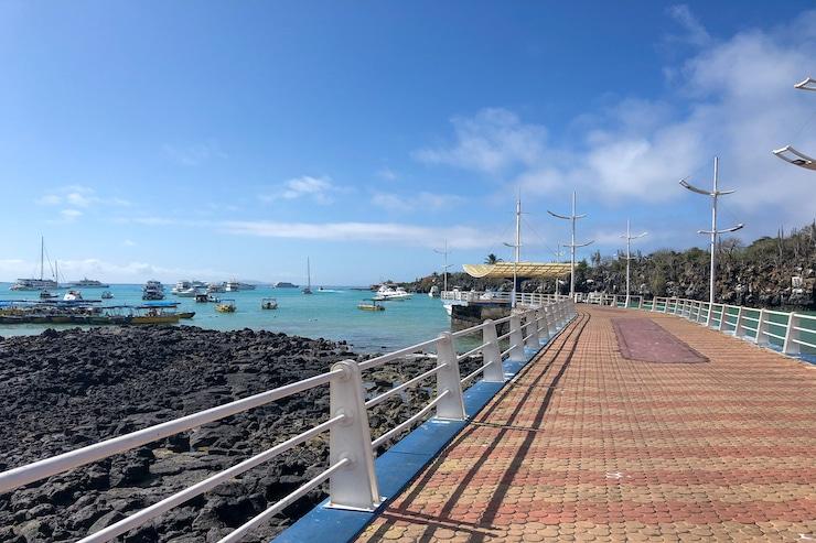 Galapagos Santa Cruz Hafen
