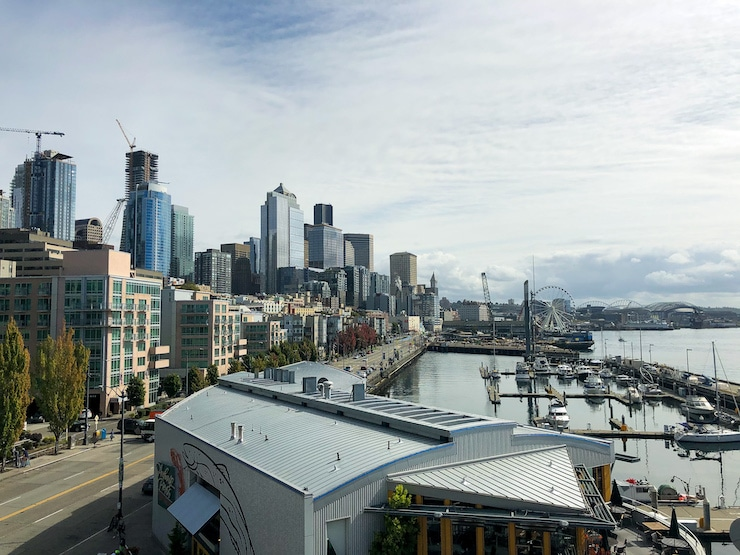 Seattle Waterfront Aussicht