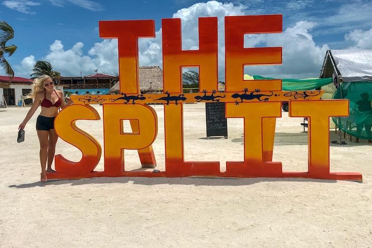 The Split in Caye Caulker