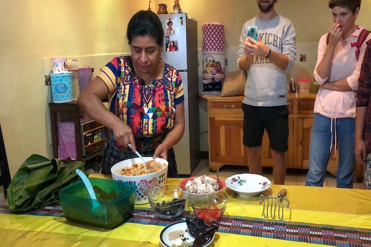 Guatemaltekisch Kochen mit Einheimischen