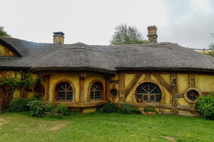 Green Dragon Pub in Hobbiton
