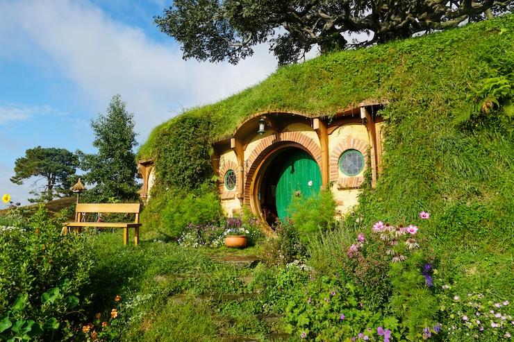 Hütte von Bilbo in Hobbiton