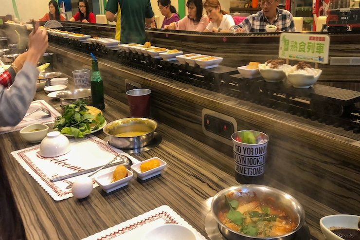 All you can eat Hot Pot Restaurant