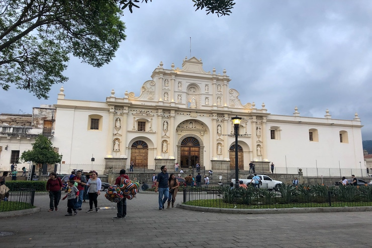 San Jose nahe Plaza Central in Antigua Guatemala