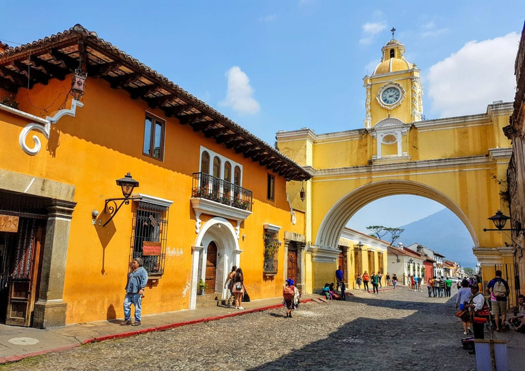 Santa Catalina Arch in Antigua Guatemala