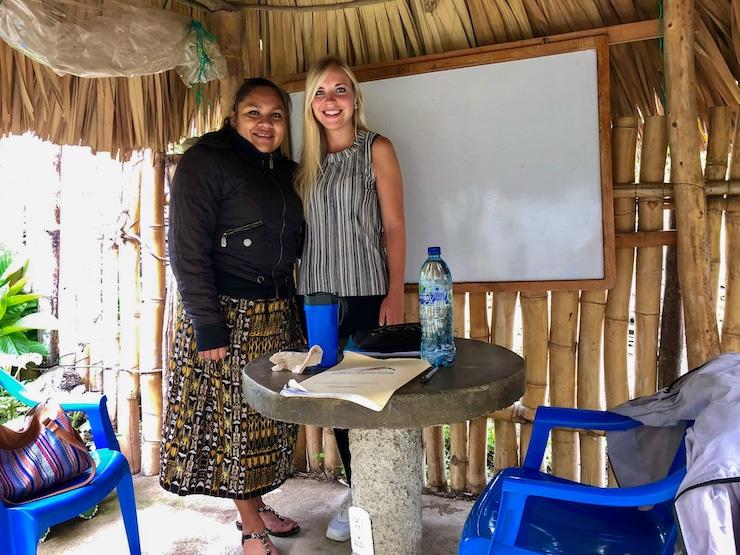 Spanisch lernen in einer Sprachschule in Guatemala